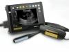 scanner à ultrasons portatif avec lunettes, échographe pour le diagnostic des bovins, diagnostic des bovins par imagerie, surveillance de la reproduction