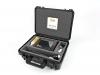 une valise robuste protège l'échographe pendant le transport, transport en toute sécurité