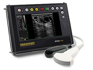 scanneur à ultrasons vétérinaire pour examiner les animaux gros et petis