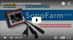 SonoFarm mini scanneur à ultrasons pour détecter la grossesse chez les animaux, vidéo promotionnelle
