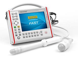 Le scanner à ultrasons portable est idéal pour une utilisation en médecine d'urgence, en médecine militaire, y compris en médecine des catastrophes. Destiné aux premiers tests de diagnostic sur site, procédure FAST. Conçu pour le diagnostic rapide des organes abdominaux et pelviens à travers la coquille corporelle et pour les examens endovaginaux et endorectaux