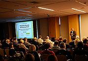 Fréquentation en hausse à la conférence à Olsztyn