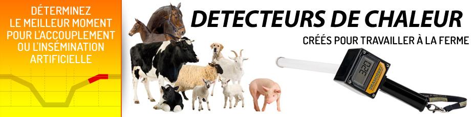 Draminski d tecteur de chaleur pour les vaches et les juments for Detecteur de chaleur