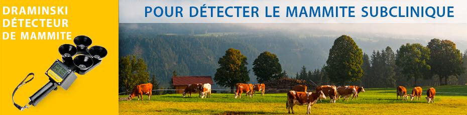 DRAMINSKI Détecteur de Mammite – équipement pratique pour la détection des états subcliniques d'inflammation de la mamelle. Vérifiez!