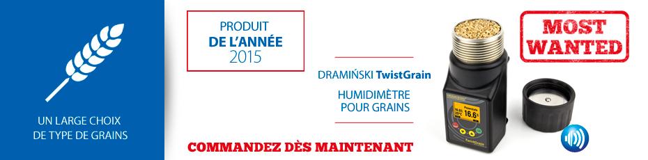 DRAMINSKI Twist Grain – l'humidimètre de construction ergonomique y la mesure précise. Vérifiez!