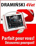 DRAMINSKI 4Vet - L'échographe vétérinaire profesionnel. Parfait pour vous ! Découvrez pourquoi !