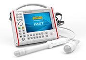 Scanner à ultrasons portable et extrêmement robuste conçu pour tous les médecins. Pour un balayage rapide des organes abdominaux et pelviens.