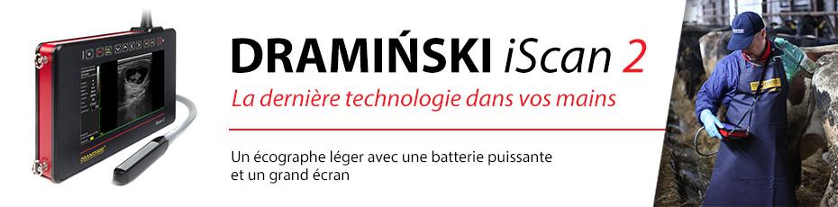 Un écographe léger avec une batterie puissante et un grand écran