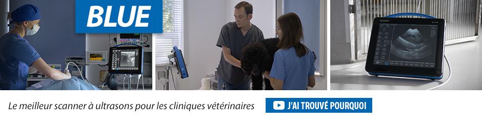 Dramiński BLUE Le meilleur scanner à ultrasons pour les cliniques vétérinaires