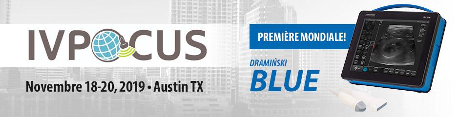 Première mondiale du scanner à ultrasons Dramiński BLUE