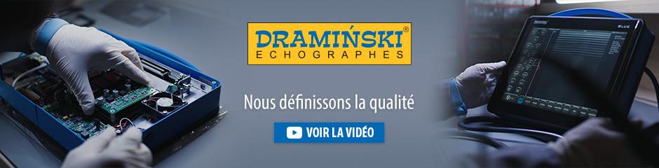 Dramiński est un fabricant européen indépendant de scanners à ultrasons portables et d'appareils électroniques pour l'agriculture