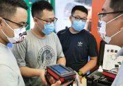 La première de notre iScan mini échographe en Chine!
